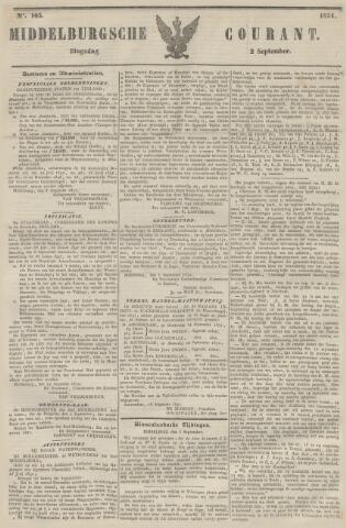 Middelburgsche Courant 1851-09-02