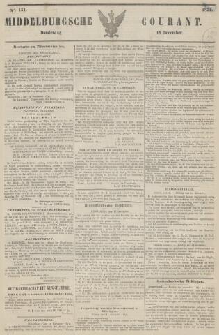 Middelburgsche Courant 1851-12-18
