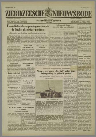 Zierikzeesche Nieuwsbode 1958-06-02