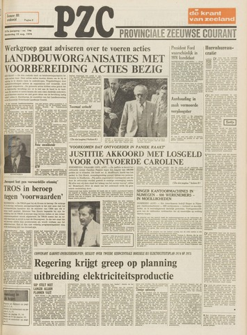 Provinciale Zeeuwse Courant 1974-08-22