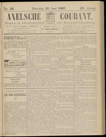 Axelsche Courant 1907-06-22