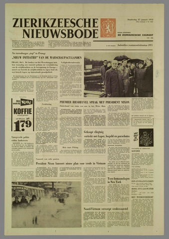 Zierikzeesche Nieuwsbode 1972-01-27