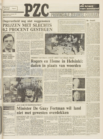 Provinciale Zeeuwse Courant 1973-07-06