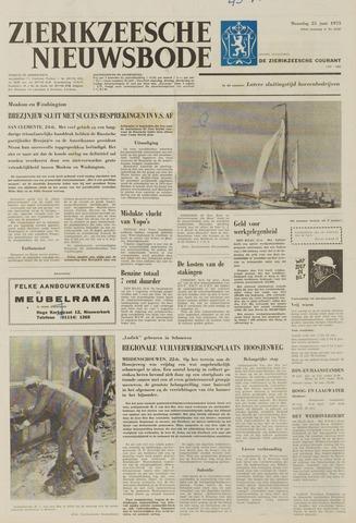 Zierikzeesche Nieuwsbode 1973-06-25