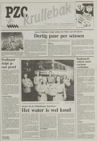 Provinciale Zeeuwse Courant katern Krullenbak (1981-1999) 1991-12-10