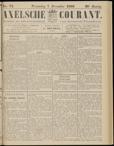 Axelsche Courant 1910-12-07