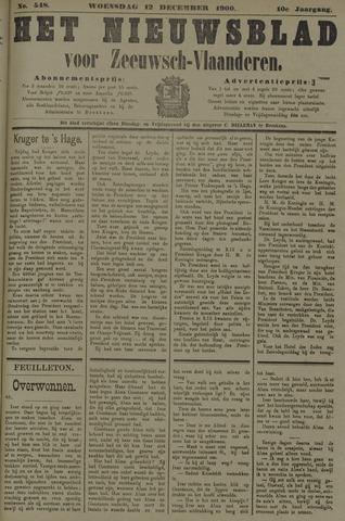 Nieuwsblad voor Zeeuwsch-Vlaanderen 1900-12-12