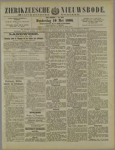 Zierikzeesche Nieuwsbode 1906-05-10