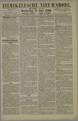 Zierikzeesche Nieuwsbode 1900-06-21