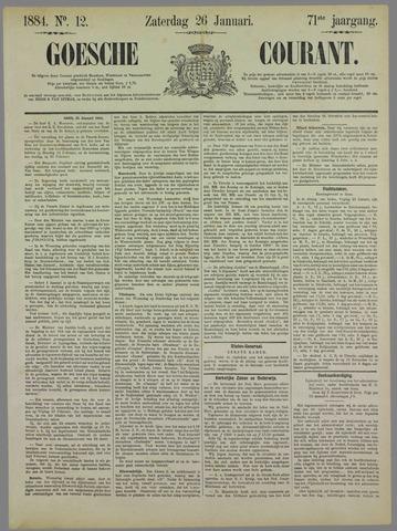 Goessche Courant 1884-01-26