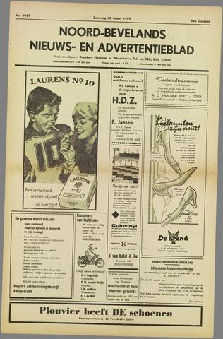 Noord-Bevelands Nieuws- en advertentieblad 1959-03-28