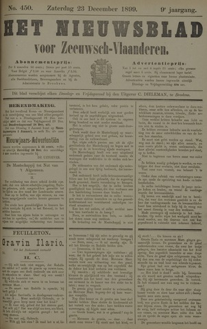 Nieuwsblad voor Zeeuwsch-Vlaanderen 1899-12-23