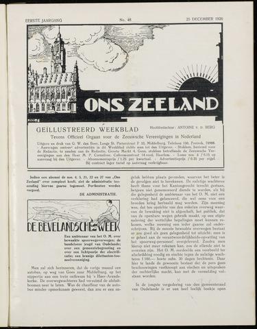 Ons Zeeland / Zeeuwsche editie 1926-12-25