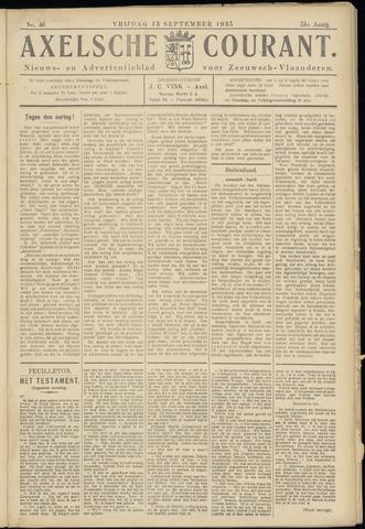 Axelsche Courant 1935-09-13