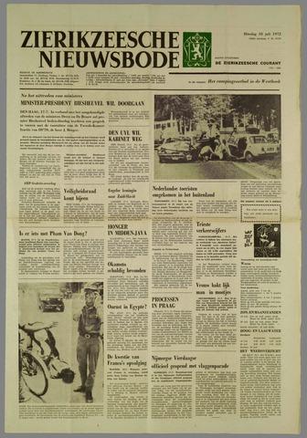 Zierikzeesche Nieuwsbode 1972-07-18