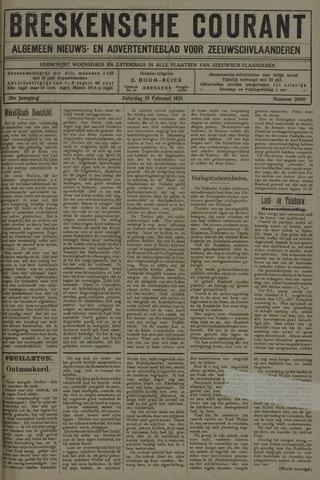 Breskensche Courant 1921-02-19