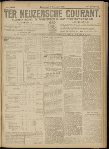 Ter Neuzensche Courant. Algemeen Nieuws- en Advertentieblad voor Zeeuwsch-Vlaanderen / Neuzensche Courant ... (idem) / (Algemeen) nieuws en advertentieblad voor Zeeuwsch-Vlaanderen 1916-10-07