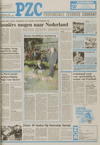 Provinciale Zeeuwse Courant 1992-08-20