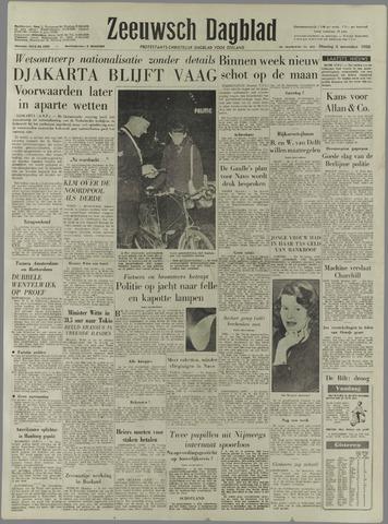 Zeeuwsch Dagblad 1958-11-04