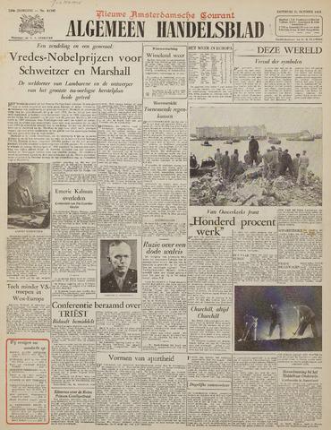 Watersnood documentatie 1953 - kranten 1953-10-31