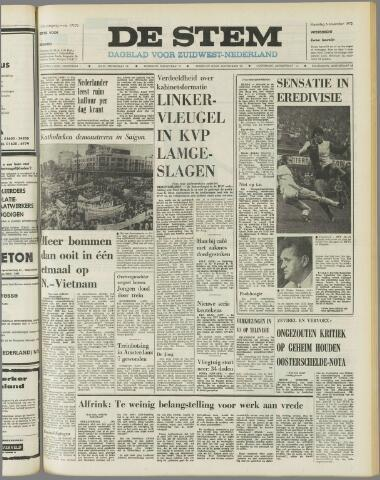 de Stem 1972-11-06