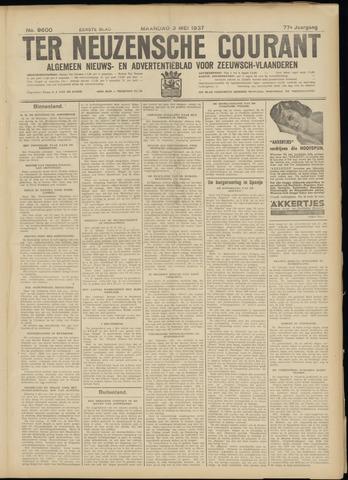 Ter Neuzensche Courant. Algemeen Nieuws- en Advertentieblad voor Zeeuwsch-Vlaanderen / Neuzensche Courant ... (idem) / (Algemeen) nieuws en advertentieblad voor Zeeuwsch-Vlaanderen 1937-05-03
