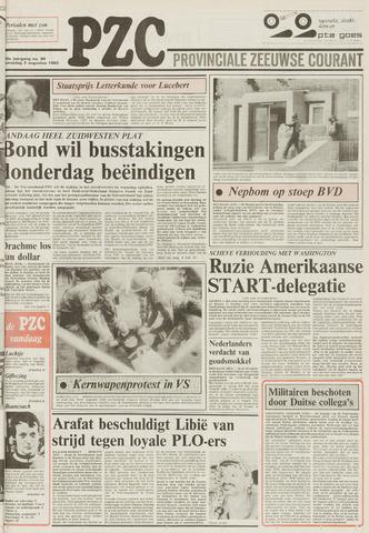 Provinciale Zeeuwse Courant 1983-08-03