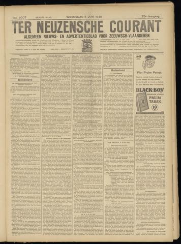 Ter Neuzensche Courant. Algemeen Nieuws- en Advertentieblad voor Zeeuwsch-Vlaanderen / Neuzensche Courant ... (idem) / (Algemeen) nieuws en advertentieblad voor Zeeuwsch-Vlaanderen 1935-06-05