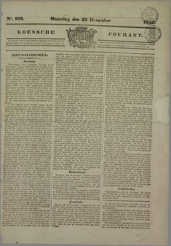 Goessche Courant 1842-12-26