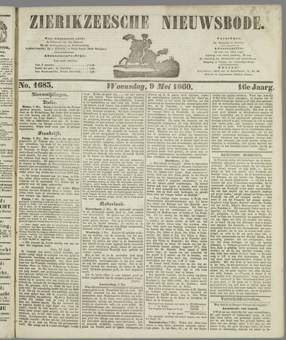 Zierikzeesche Nieuwsbode 1860-05-09
