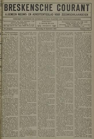 Breskensche Courant 1922-09-20