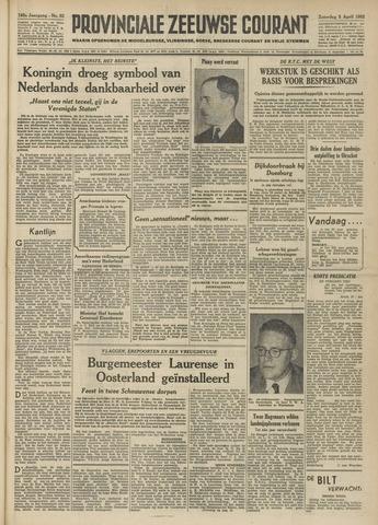 Provinciale Zeeuwse Courant 1952-04-05