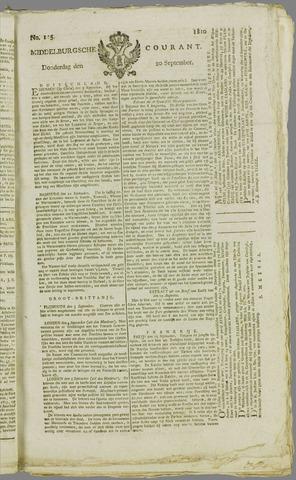 Middelburgsche Courant 1810-09-20