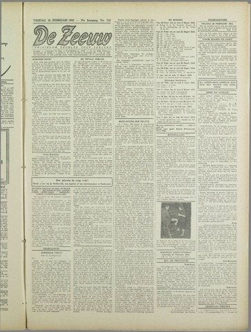 De Zeeuw. Christelijk-historisch nieuwsblad voor Zeeland 1943-02-26