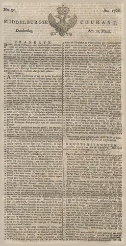 Middelburgsche Courant 1768-03-10
