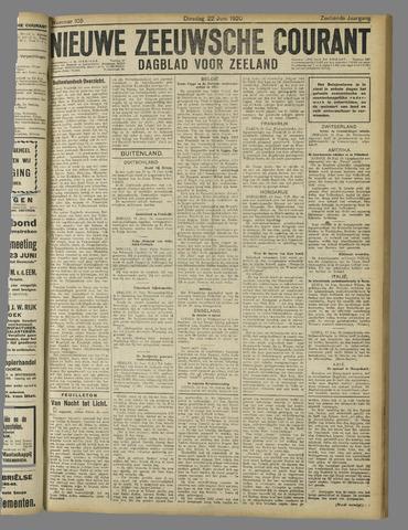 Nieuwe Zeeuwsche Courant 1920-06-22