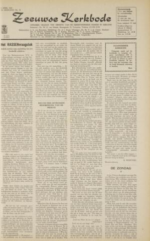 Zeeuwsche kerkbode, weekblad gewijd aan de belangen der gereformeerde kerken/ Zeeuwsch kerkblad 1963-04-05