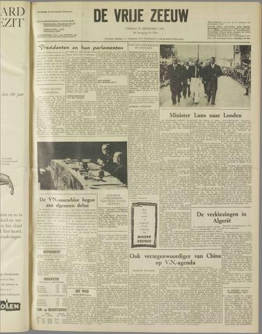 de Vrije Zeeuw 1962-09-21