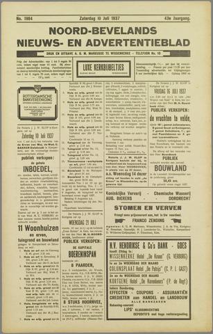 Noord-Bevelands Nieuws- en advertentieblad 1937-07-10