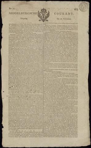 Middelburgsche Courant 1814-11-22