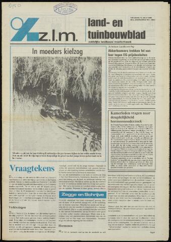 Zeeuwsch landbouwblad ... ZLM land- en tuinbouwblad 1981-05-15