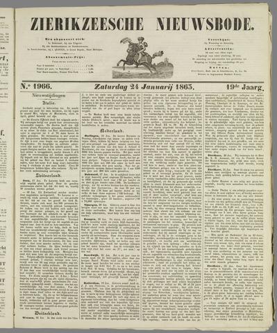 Zierikzeesche Nieuwsbode 1863-01-24