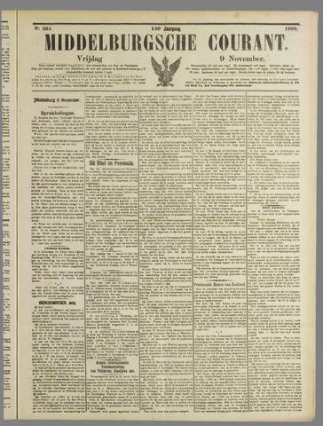 Middelburgsche Courant 1906-11-09