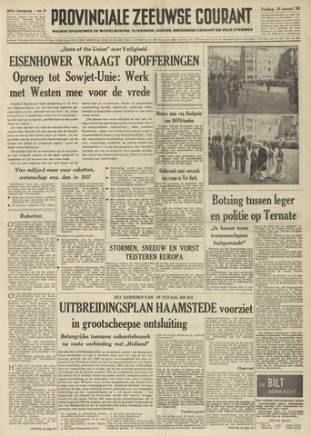 Provinciale Zeeuwse Courant 1958-01-10