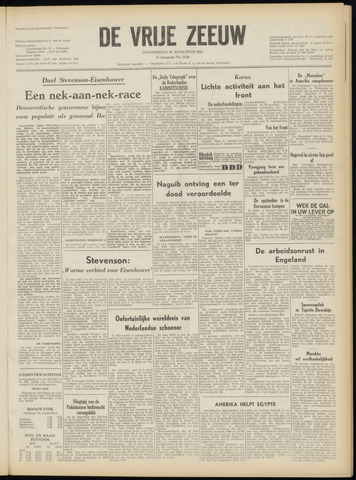 de Vrije Zeeuw 1952-08-28