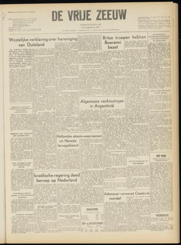de Vrije Zeeuw 1957-07-30