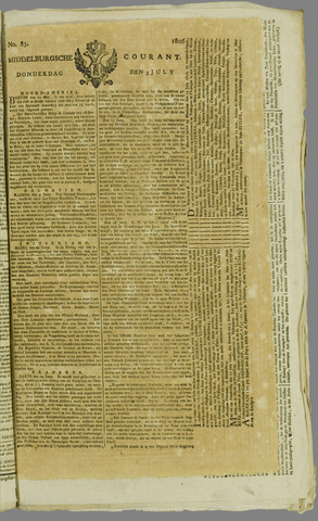 Middelburgsche Courant 1806-07-03