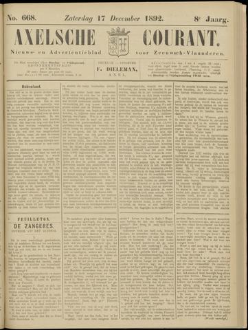 Axelsche Courant 1892-12-17