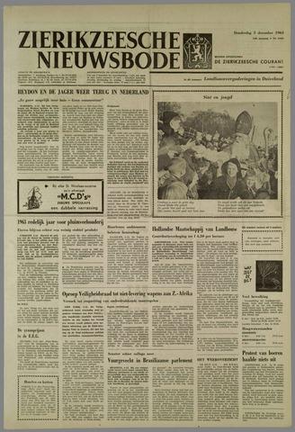 Zierikzeesche Nieuwsbode 1963-12-05