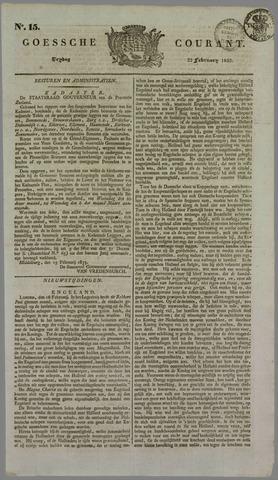 Goessche Courant 1833-02-22